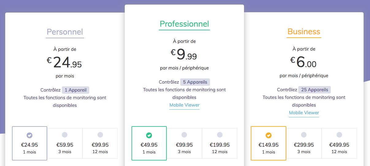 hoverwatch prix
